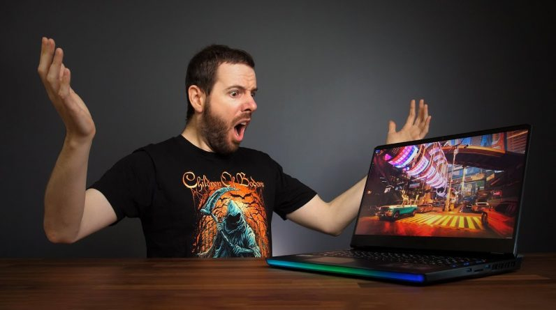 The FASTEST Gaming Laptop I've Ever Tested!